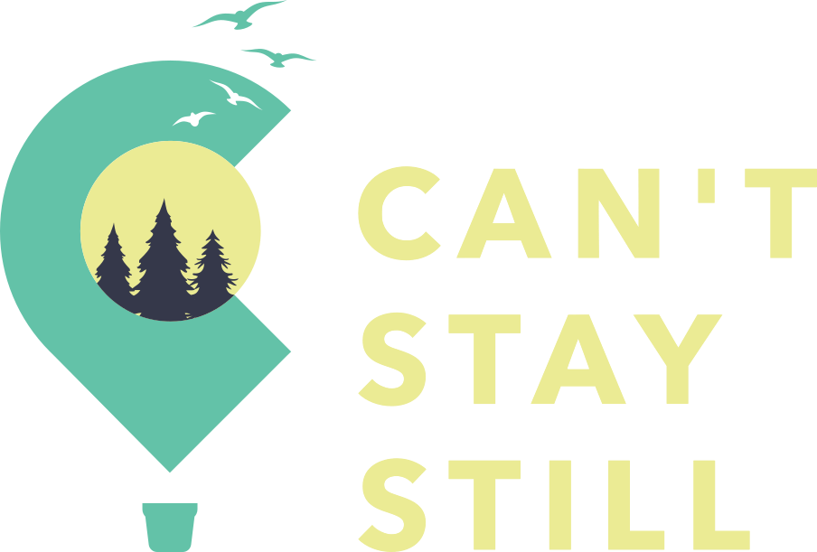 Cant Stay Still Logo