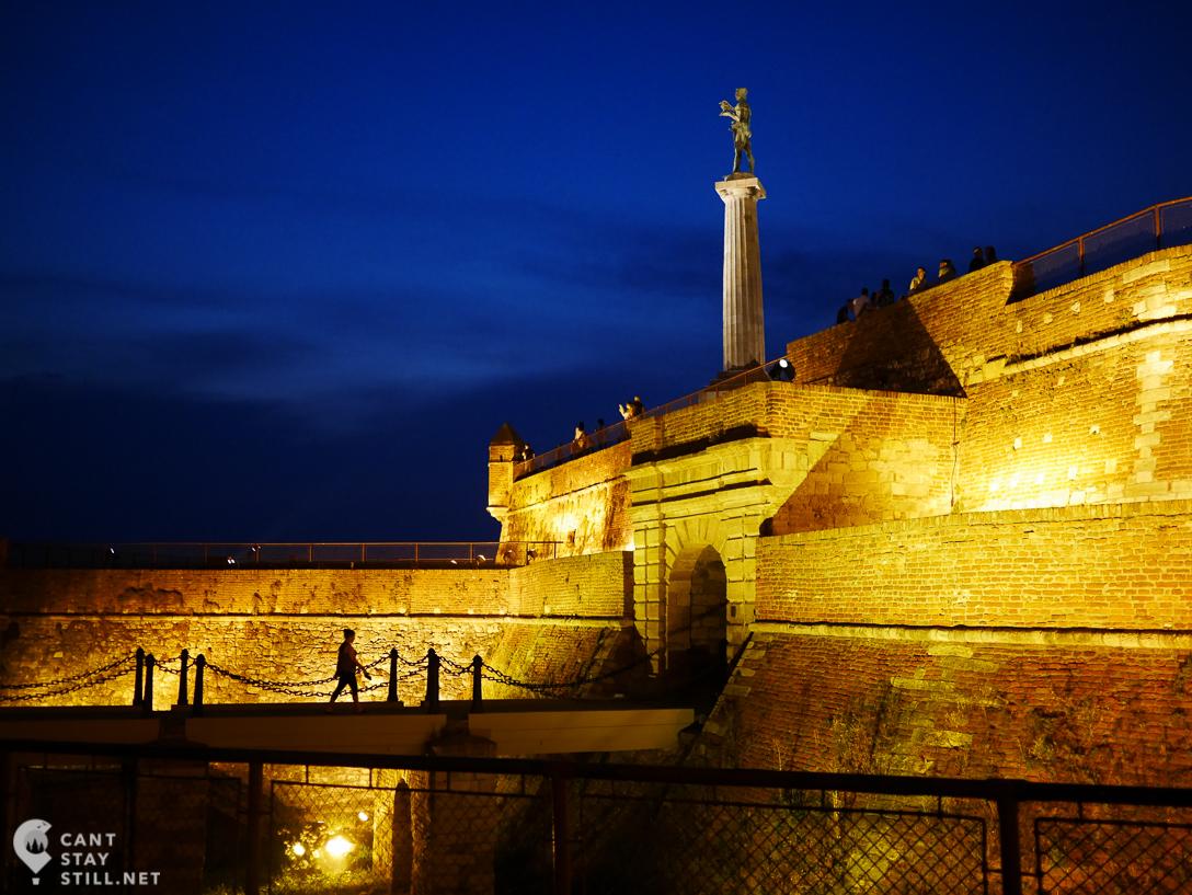 medieval fortress, Belgrade, Serbia